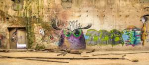 Graffiti d'usine céramique